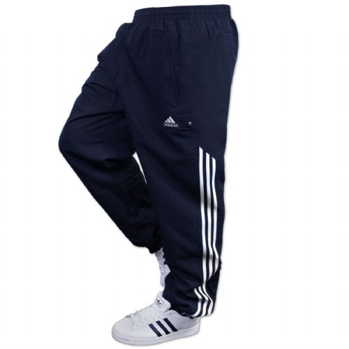 Adidas AD Woven Sting mens Jogging Pant Tracksuit Bottoms Track Pants Cuffed Navy